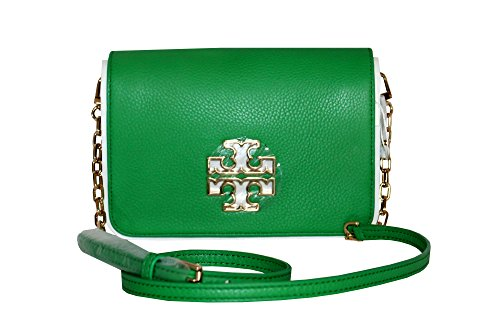 Green Handbag Court Britten Leather Combo Women's Burch Crossbody Tory Uxq86ZA