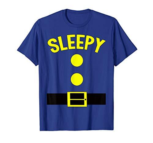 Sleepy Dwarf Halloween Costume Funny Gift Idea