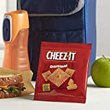 Cheez-It Baked Snack Cheese Crackers Variety Pack - 4 Flavors Single Serve School Lunch Snacks