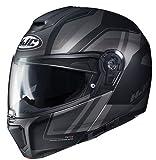 hjc rpha modular - HJC Unisex-Adult RPHA 90 Tanisk Modular/Flip Up Helmet (Multi MC-5SF, Medium)