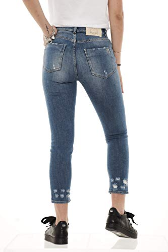 Jeans Vita Donna Blue Minou Light F14 29 Pinko Alta dvUId