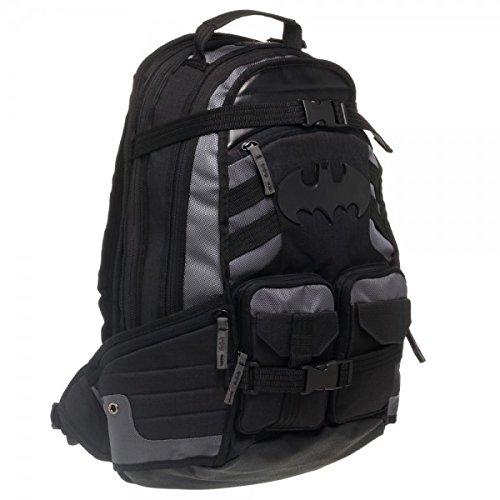 DC Comics Batman with Logo Black Tactical Backpack