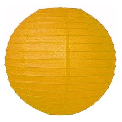 """VIPstore® 12"""" Chinese Paper Lanterns Lamp For Party Wedding Home Outdoor Decoration (10 Pack) (yellow)"""