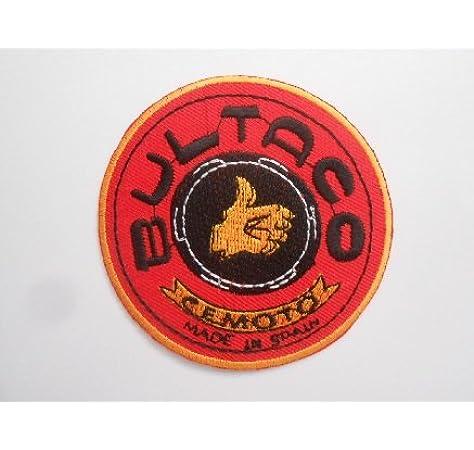 Parche con logo de Bultaco «Made in Spain», aplique de bordado, escudo bordado, disfraz o regalo: Amazon.es: Coche y moto