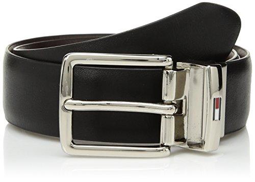 (Tommy Hilfiger Boys' Big Reversible Dress Belt, Black/Brown, Medium (26-28))