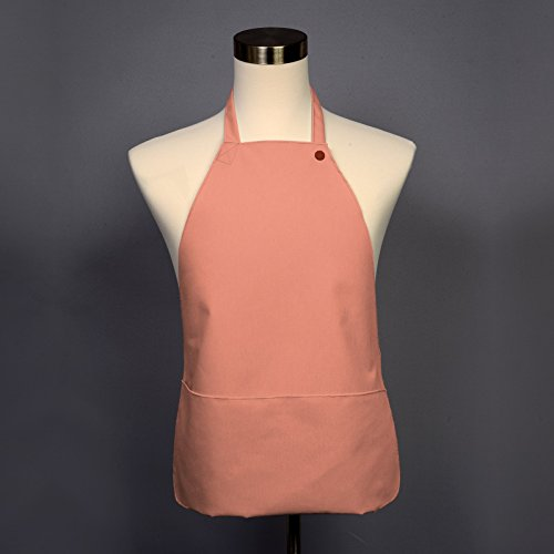 Adult Bib 25 Pack - Covered with Care Assorted Colors Available! (Peach) by BIBBWEAR