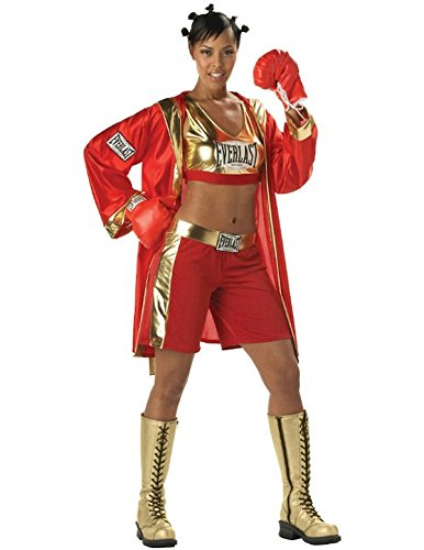 Everlast Costumes (Everlast Boxer Chick Sexy Contender Adult Costume Large)