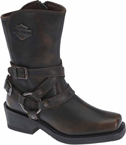 Ladies Motorcycle Riding Boots - 7