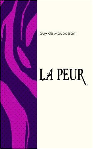 La Peur Les Deux Versions 1882 1884 French Edition Guy