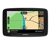 TomTom Go Comfort 6 with WiFi, 6 inch Display, Lifetime Traffic and Maps, Smart Routing, Destination Prediction and Road Trips
