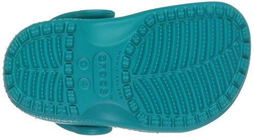 Crocs 204118, Zoccoli Bambini Unisex, Blu (Turquoise), 30/31 EU