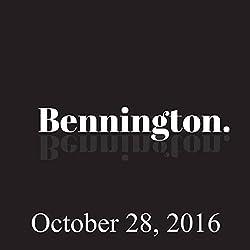 Bennington, October 28, 2016