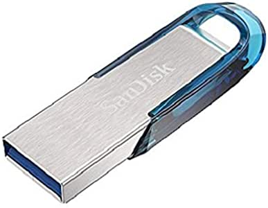 Sandisk Ultra Flair USB 3.0 128GB Tropical Blue, Blue (SDCZ73-128G-G46B)