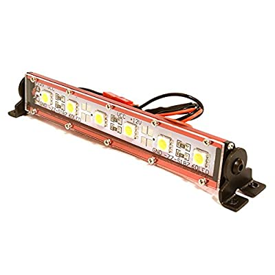 Integy RC Model Hop-ups C26700RED Realistic Roof Top SMD LED Light Bar 123x17x21mm for 1/10 Scale Crawler