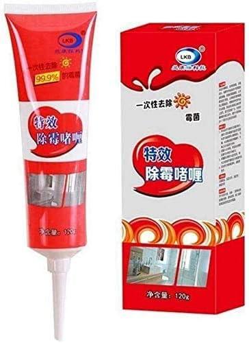 Mold Remover Gel,anti olor olor químico de pared profunda molde para remover moho gel de calafateo (2 piezas)