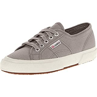 Superga Unisex 2750 Cotu  Grey Sage Classic Sneaker - 39 M EU / 8 B(M) US Women / 6.5 D(M) US Men