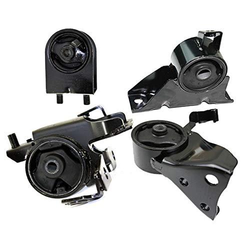 K2080 Fits 1999-2003 Mazda Protege 1.8L 2.0L MANUAL Motor & Trans Mount Set 4pcs : A6486, A6481, A6485, ()