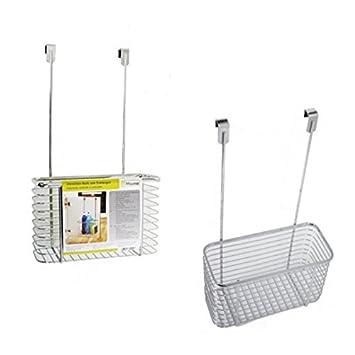 Utensilien-Korb zum Einhängen CHROM Schrank Küchenschrank Badezimmer ...
