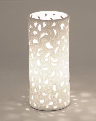 Lampe Rund Romantik 10 x 23cm kleine Ausführung