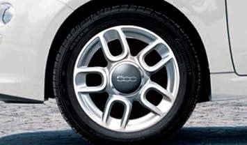 Original Fiat 500 500 C Verano Completo juego de ruedas 5 de radios 15 Dunlop