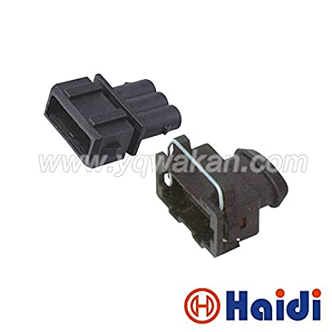 Enjoyable Davitu 5Sets 3Pin Vw Auto Wire Harness Connector Waterproof Male Wiring Cloud Hisonuggs Outletorg