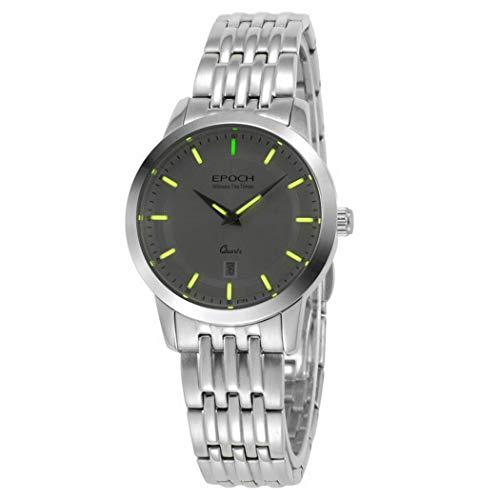 EPOCH 6023L 50m Water Resistant T25 Tritium Luminous Vogue Business Dress Lady Women Quartz Watch Wristwatch (P8)