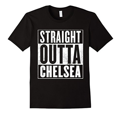 Chelsea Graphic T-shirt (Mens Chelsea Shirt - Straight Outta Chelsea T-Shirt XL Black)