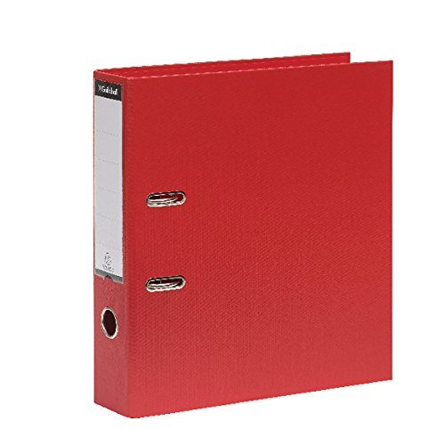 Guildhall Lever Arch File A4 80mm Spine Red - Pack of 10 by Guildhall