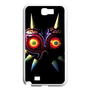 Samsung Galaxy N2 7100 Cell Phone Case White The Legend of Zelda Majora's Mask SLI_731434