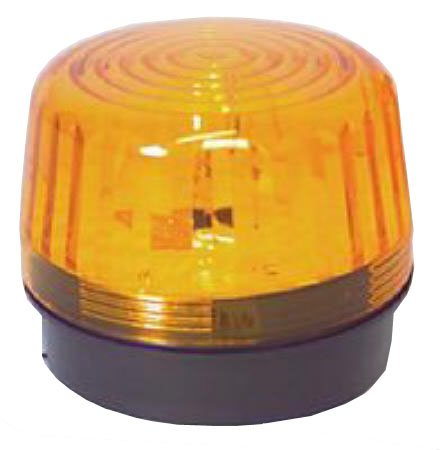 Seco-Larm Amber Strobe For 3-14VDC Applications U Type Xenon Tube Over 100000 Candle Power