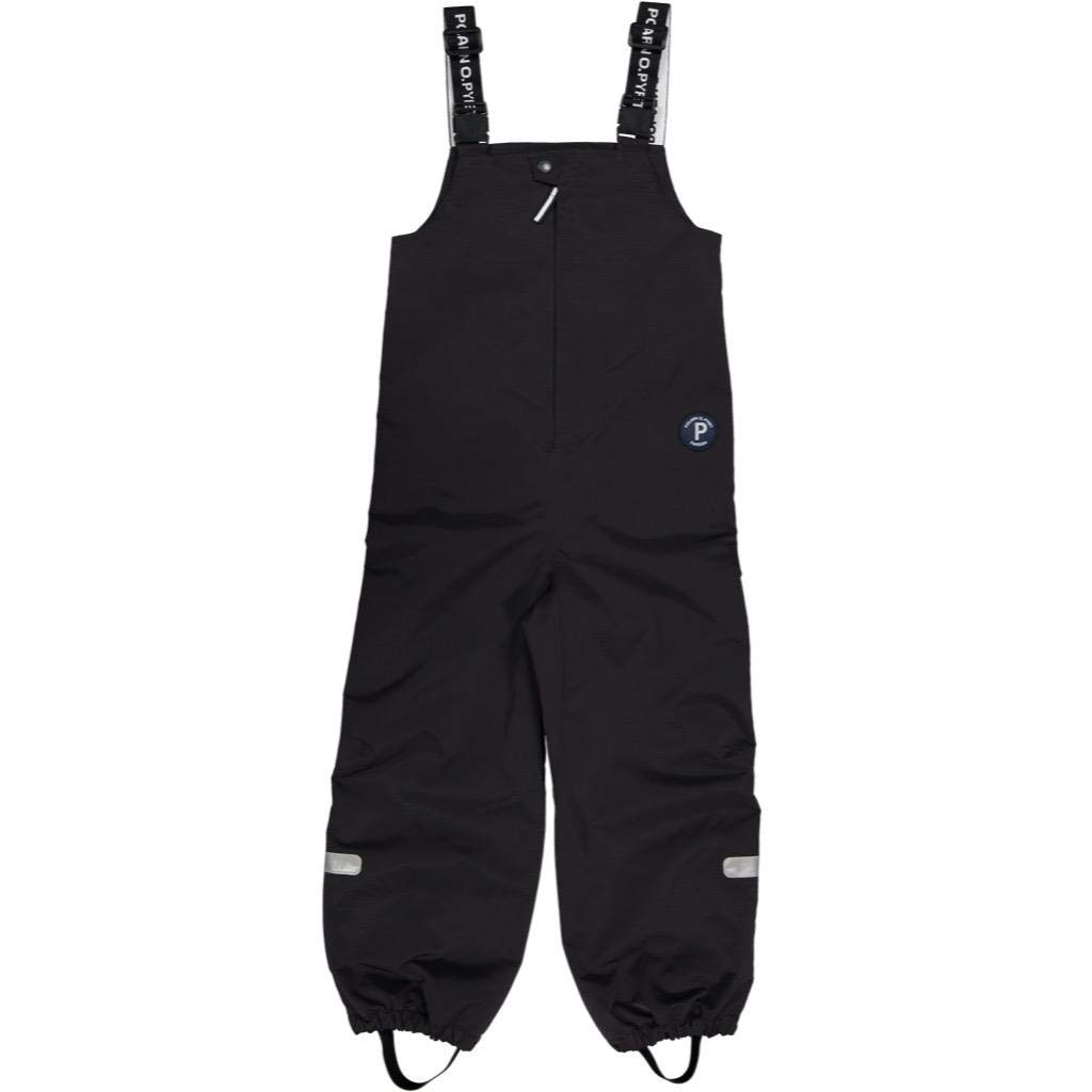 Polarn O. Pyret Waterproof BIB Shell Pants (2-6YRS) - Black/3-4 Years by Polarn O. Pyret
