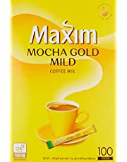 Dongseo Maxim Instant Coffee, Mocha, 100 Count