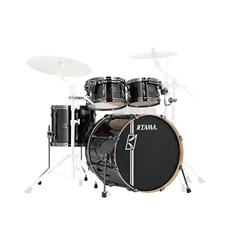 Tama ML42HLZBN DMF Superstar Hyper Drive Maple Drum Kit 4-Piece Drum Set,...