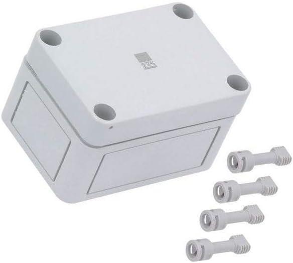 Rittal PK 9502.000 Policarbonato IP66 Caja eléctrica - Caja para Cuadro eléctrico (94 mm, 57 mm, 65 mm, 1,1 kg): Amazon.es: Bricolaje y herramientas