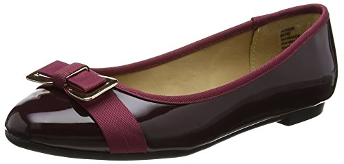 Head Over Heels Honor - Zapatillas de Ballet Mujer Rojo (Burgundy)