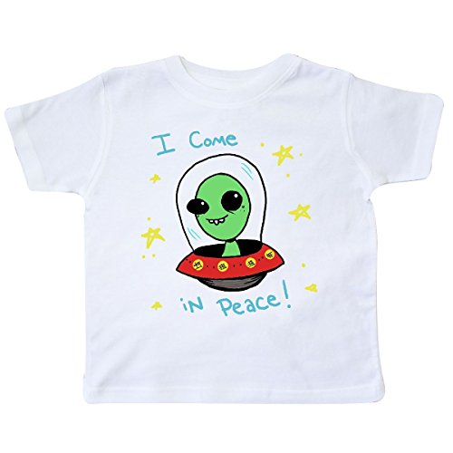 White T-shirt Alien (inktastic - Alien Toddler T-Shirt 3T White - Gus Fink Studios)