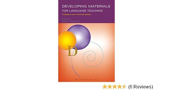 Amazon com: Developing Materials for Language Teaching eBook