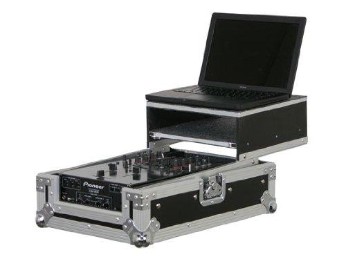 Odyssey FZGS10CP 10In Mixer Case W/Laptop Platfo Single DJ Mixer Case by Odyssey