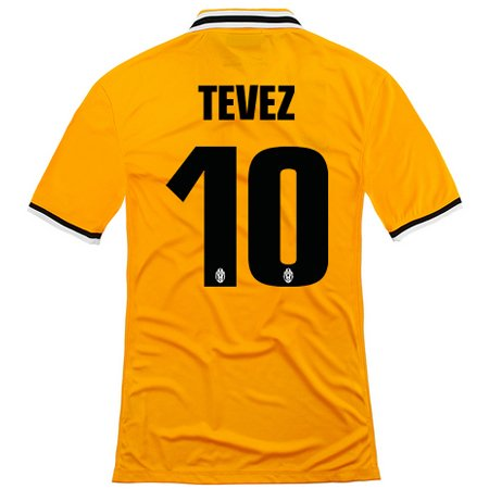 fae704e97 2013-14 Juventus Away Shirt (Tevez 10)