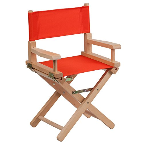 (Flash Furniture Kid Size Directors Chair in Red)