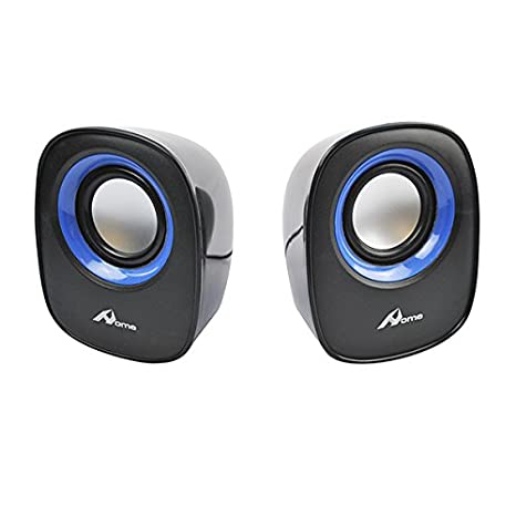 HOME a249621-BLUE - Altavoces para Ordenador, Color Azul: Amazon.es: Electrónica