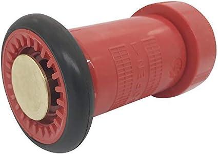 Fire Hose Spray Nozzle 1-1/2' NPSH Polycarbonate Jet Fog Nozzle Fire Equipment FHSN01 Happy Tree FHSN01NPSH