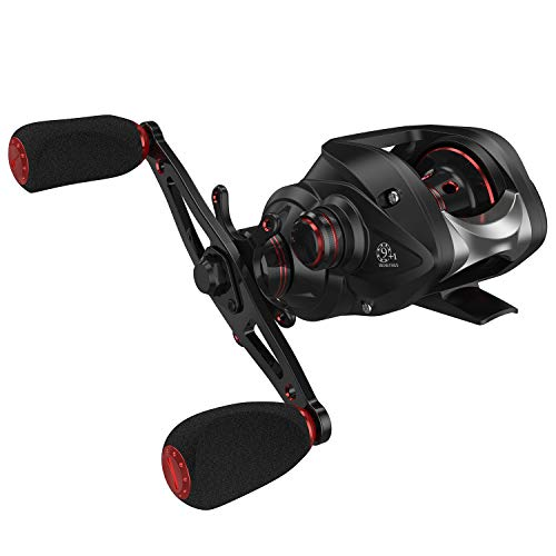Magreel Baitcasting Fishing Reel,High Speed 7.0:1 Gear Ratio Baitcaster Reel with Magnetic Braking System,Super Smooth 9+1 Ball Bearings