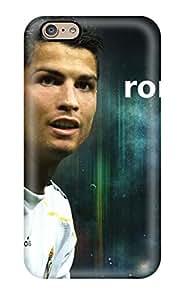 New VZMKXvo743HMImv Cristiano Ronaldo Skin Case Cover Shatterproof Case For Iphone 6