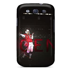 Shock-Absorbing Hard Phone Covers For Samsung Galaxy S3 With Customized HD New York Giants Pictures LisaSwinburnson WANGJING JINDA