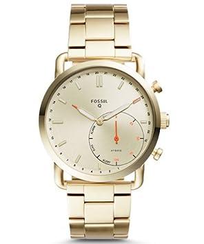 Fossil FTW1152 Oro Reloj Inteligente - Relojes Inteligentes (4320 h, Oro)