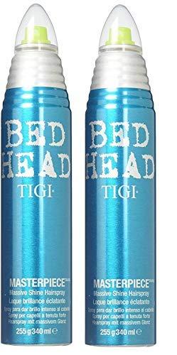 Tigi Bed Head Masterpiece Massive Shine Hairspray - 9.5 Oz (2 PACK)