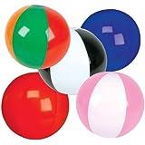 "5"" Mini Inflatable Beach Balls - 25 Count"