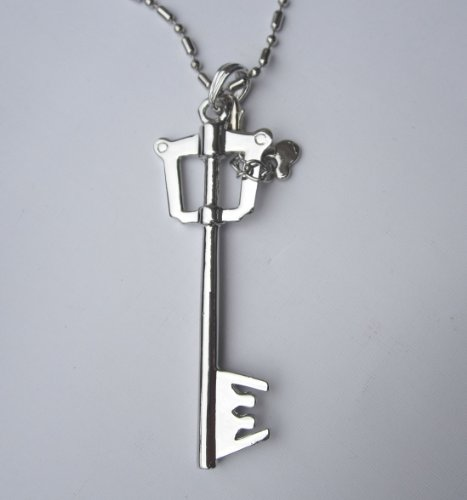 Keyblade Necklace from Kingdom Hearts Pendant Charm- Gift Box Included