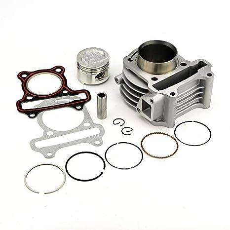 ETbotu Cylinder Kit 39/44/47/50mm For Motorbike Motorcycle GY6 50cc 80cc 100cc Professional 60cc(44mm)